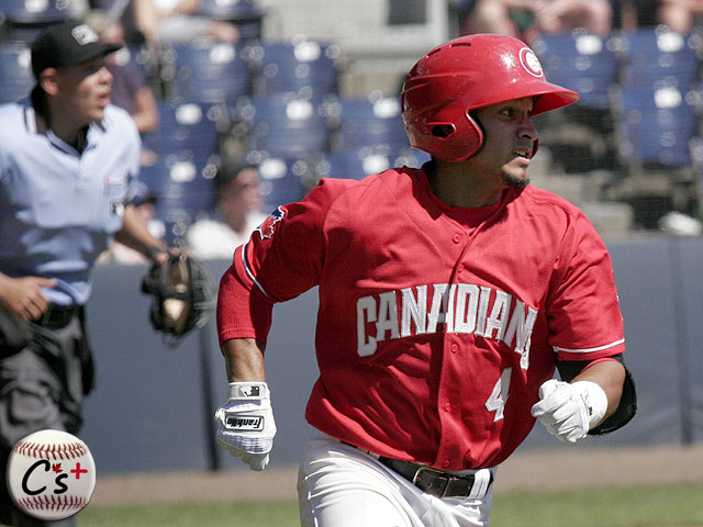 Vancouver Canadians Franklin Barreto