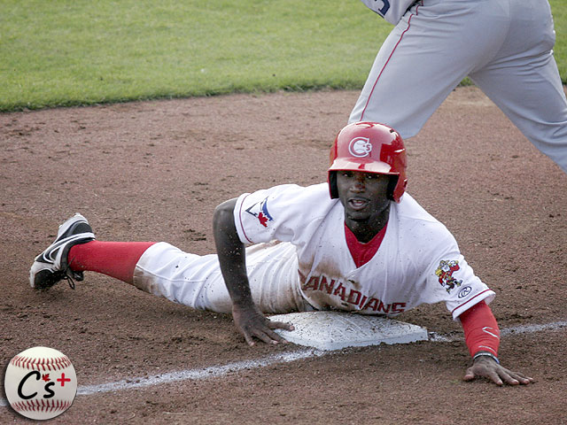 Vancouver Canadians Roemon Fields
