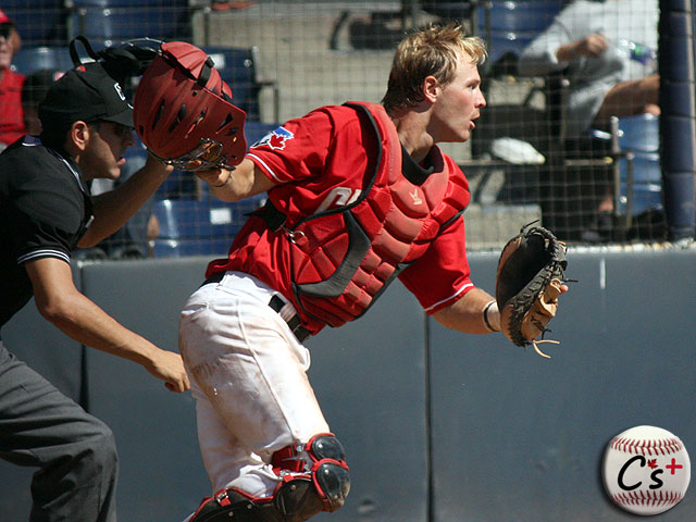Vancouver Canadians Ryan Hissey