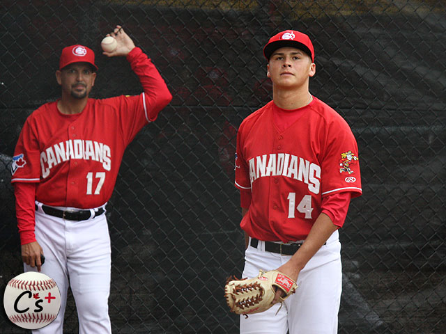Vancouver Canadians Justin Maese