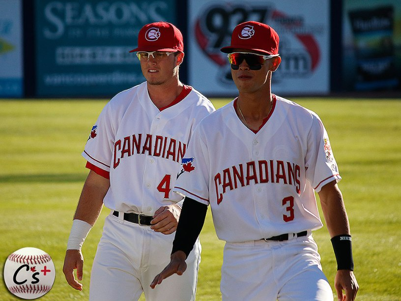 Vancouver Canadians Kacy Clemens Kevin Vicuna