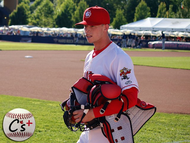 Vancouver Canadians Riley Adams
