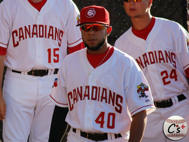 Vancouver Canadians Angel Alicea