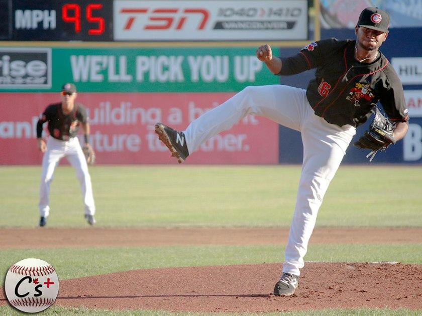 Vancouver Canadians Juan Nunez