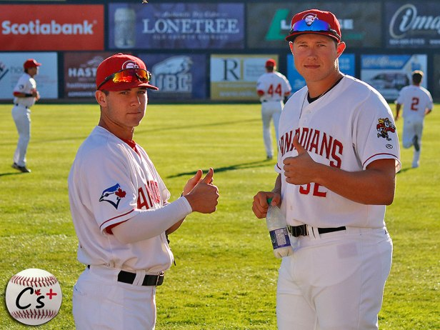 Vancouver Canadians Logan Warmoth Nate Pearson