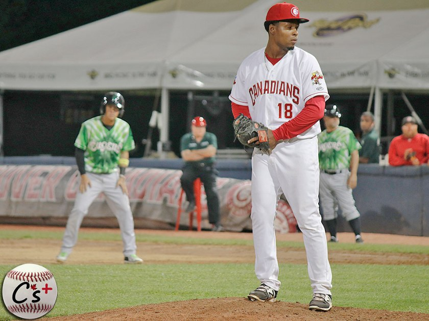 Vancouver Canadians Orlando Pascual
