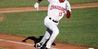 Vancouver Canadians Reggie Pruitt