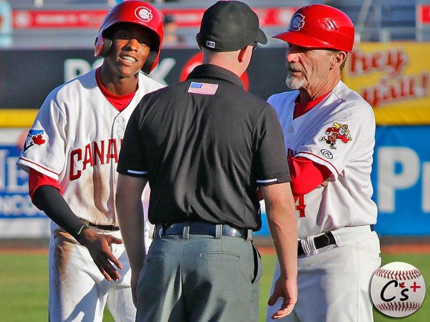 Vancouver Canadians Reggie Pruitt Rich Miller