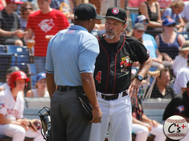 Vancouver Canadians manager Rich Miller
