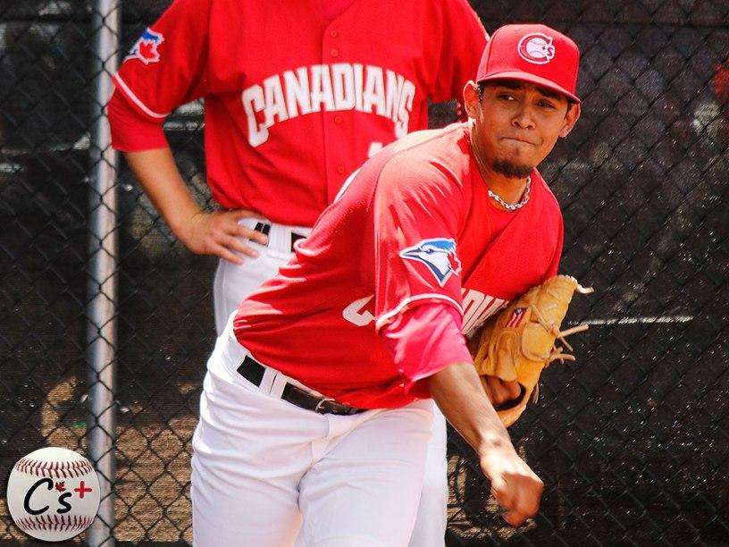 Vancouver Canadians Yonardo Herdenez