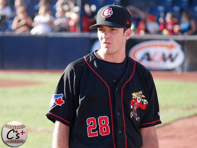 Vancouver Canadians Zach Logue