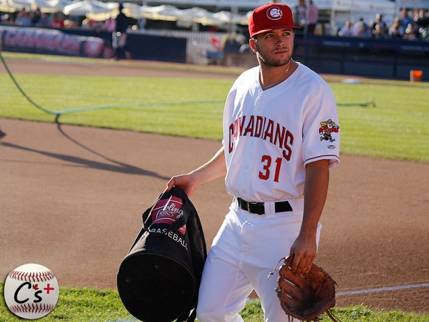 Vancouver Canadians Brock Lundquist