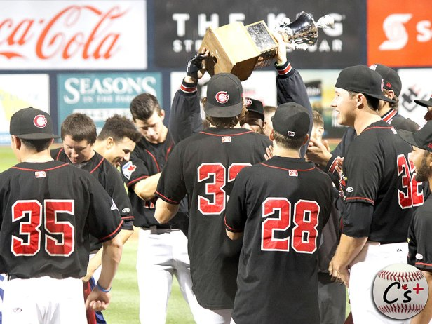 Vancouver Canadians 2017 Northwest League Champions