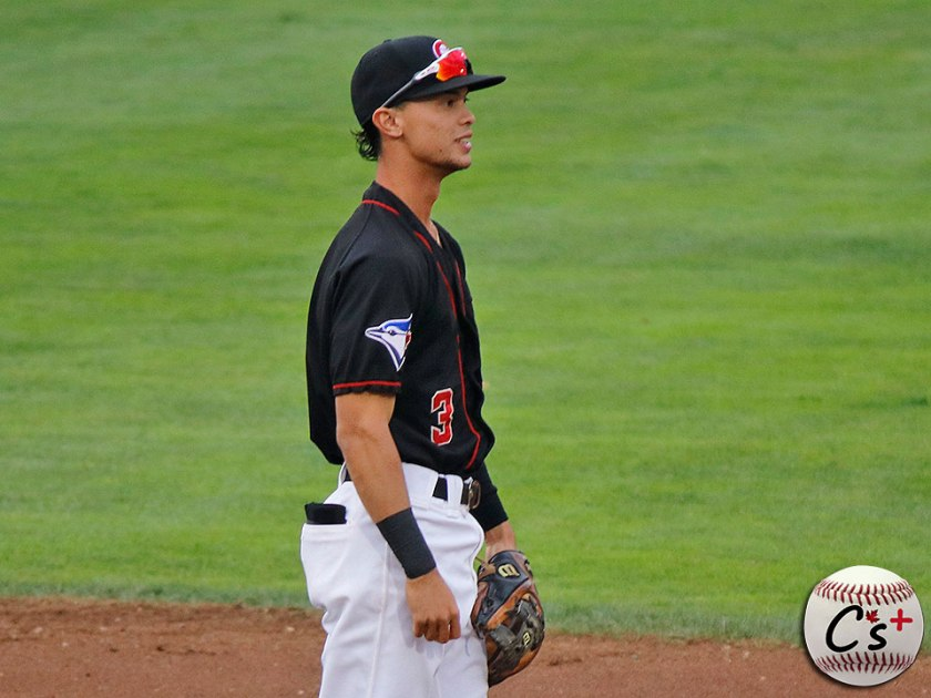 Vancouver Canadians Kevin Vicuna