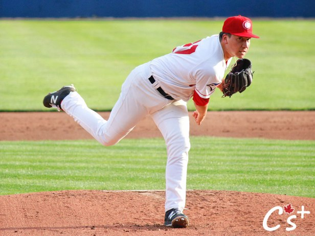 Vancouver Canadians Sean Wymer