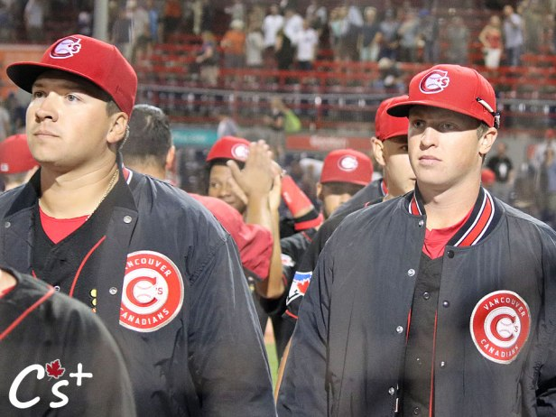 Vancouver Canadians Sean Wymer Joey Murray
