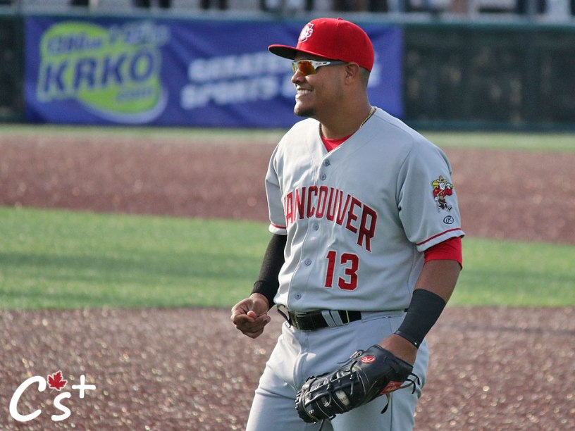 Vancouver Canadians Yorman Rodriguez