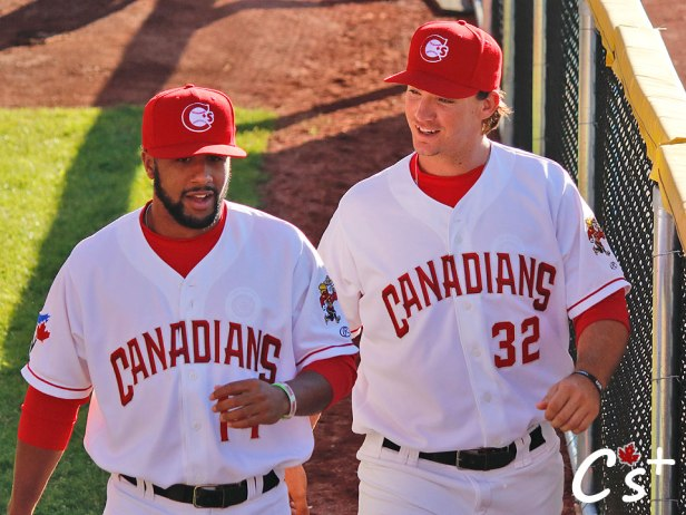 Vancouver Canadians Matt Shannon Donnie Sellers