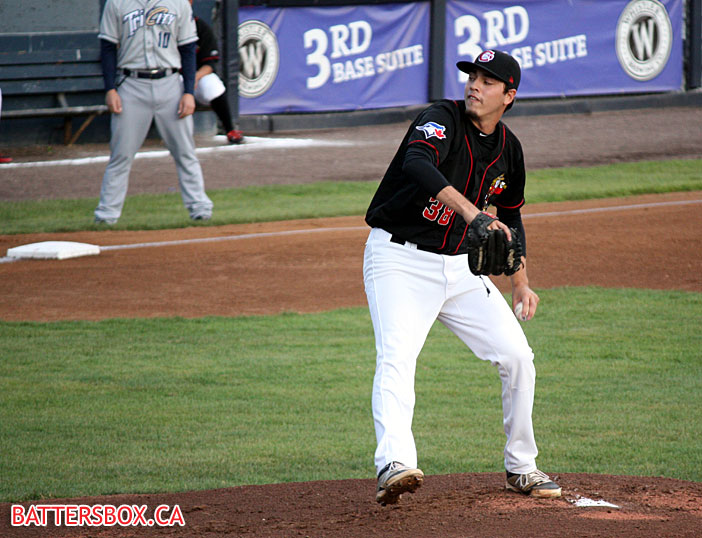 Vancouver Canadians Tayler Saucedo