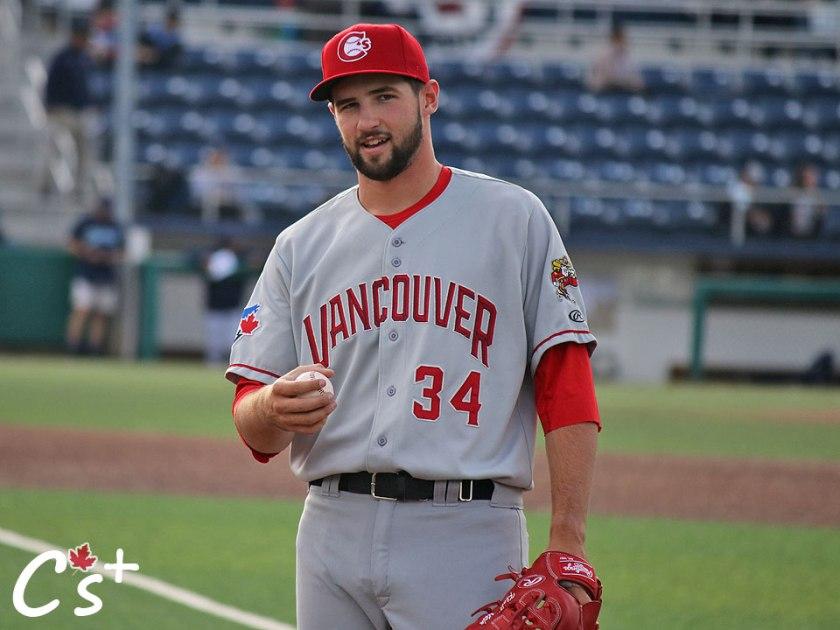 Vancouver Canadians Adam Kloffenstein