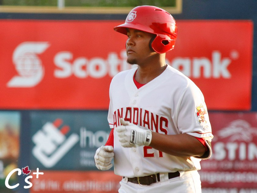 Bryan Lizardo, Vancouver Canadians third baseman
