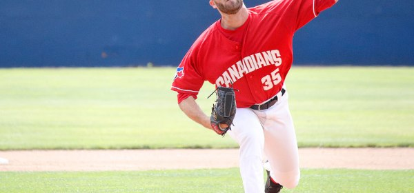 Vancouver Canadians Nick Allgeyer