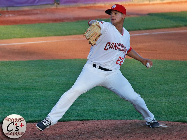 Vancouver Canadians Juliandry Higuera