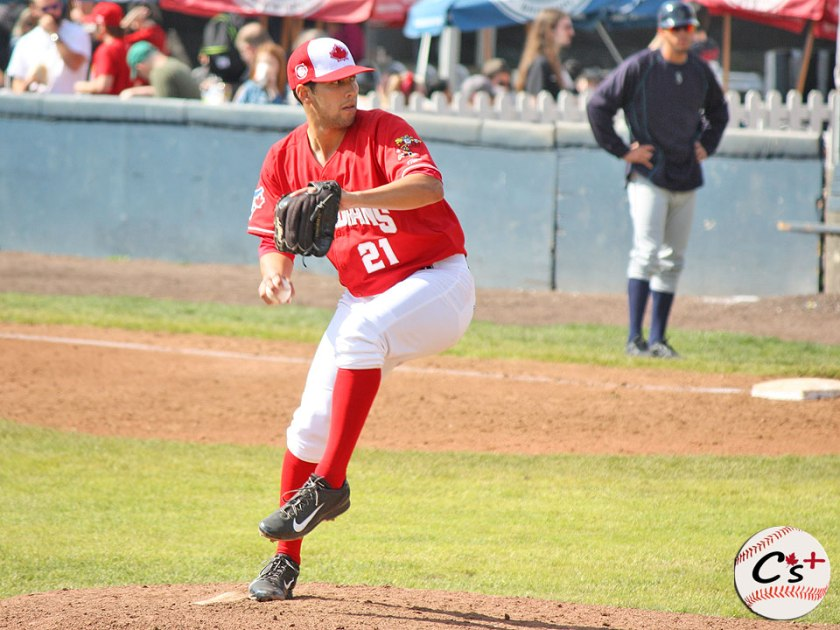 Vancouver Canadians Ryan Cook