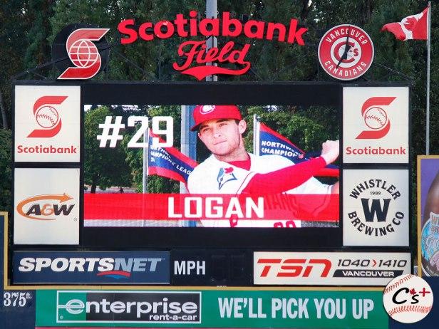 Vancouver Canadians Logan Warmoth