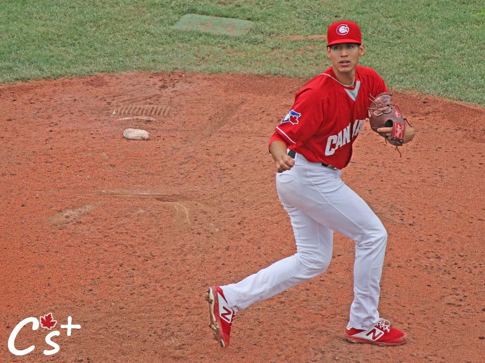 Vancouver Canadians Gabriel Ponce