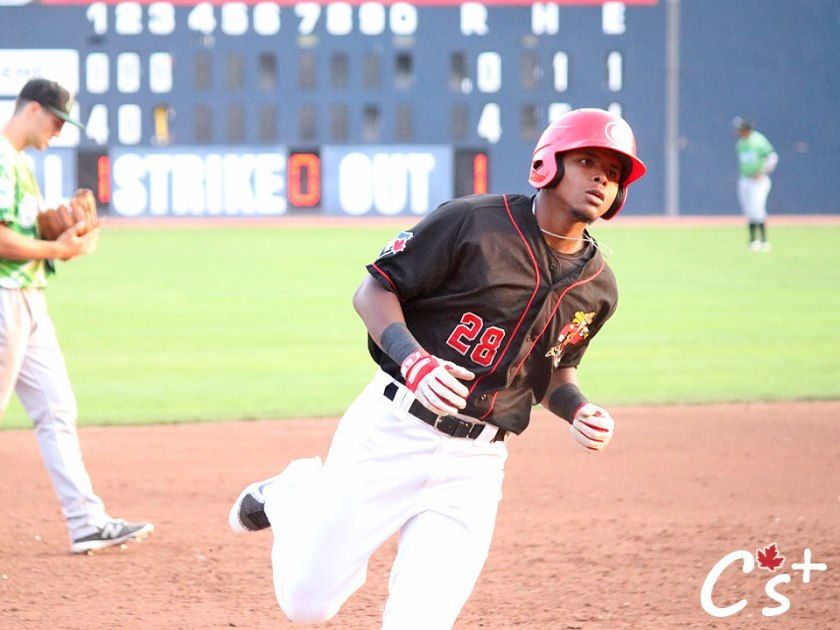 Vancouver Canadians McGregory Contreras