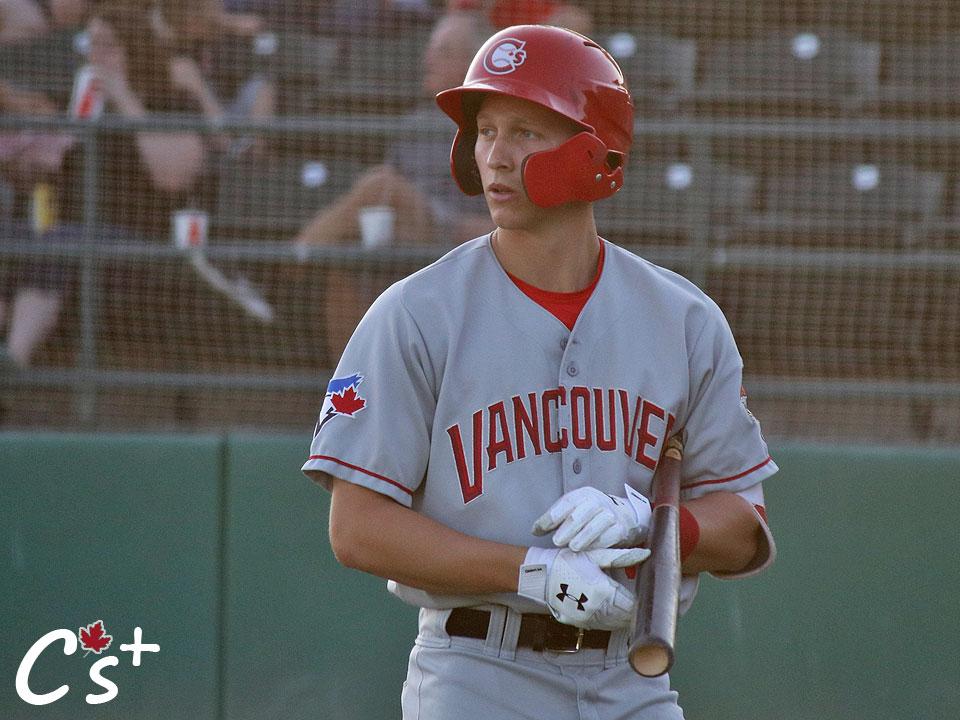 Vancouver Canadians Trevor Schwecke