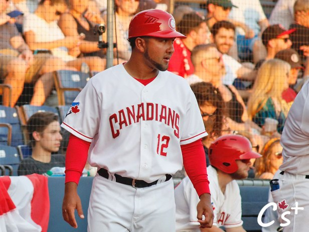 Vancouver Canadians Jose Mayorga