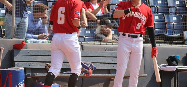 Vancouver Canadians Griffin Conine Nick Podkul