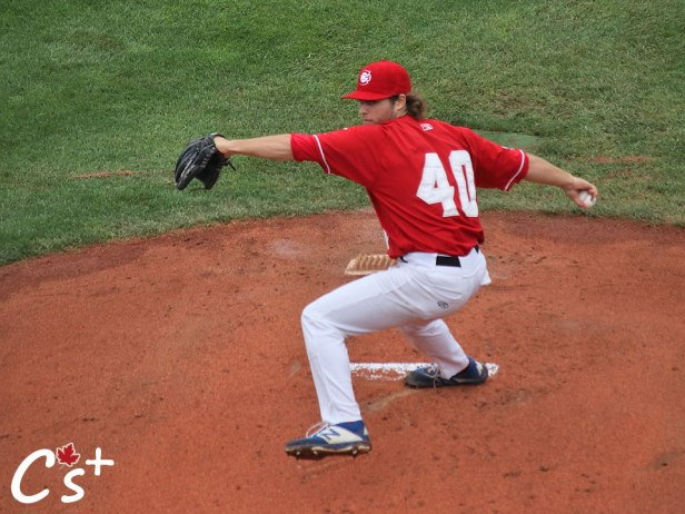 Vancouver Canadians Jared DiCesare