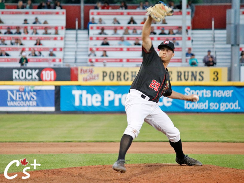 Vancouver Canadians Marcus Reyes