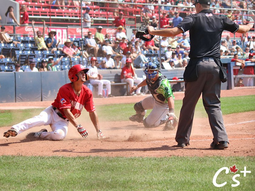 Vancouver Canadians Tanner Kirwer