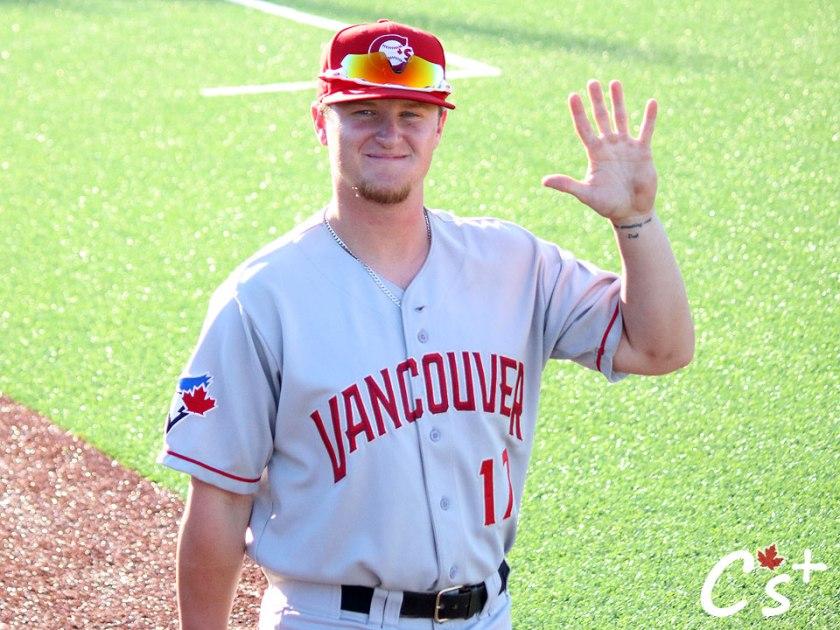 Vancouver Canadians Brett Wright