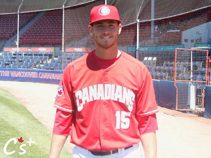 Vancouver Canadians Jordan Barrett