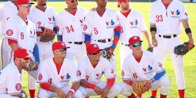 Vancouver Canadians Montreal Expos uniforms