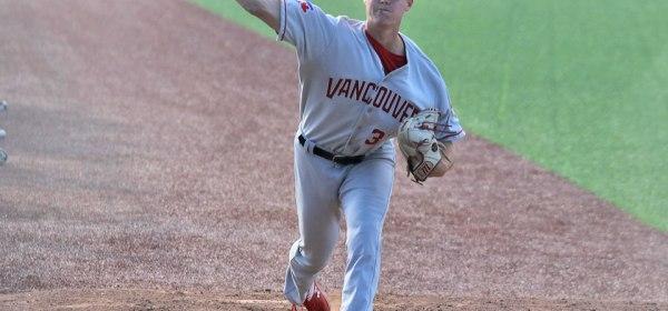 Vancouver Canadians Nick Fraze