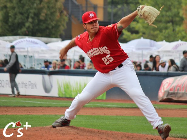 Vancouver Canadians Justin Watts