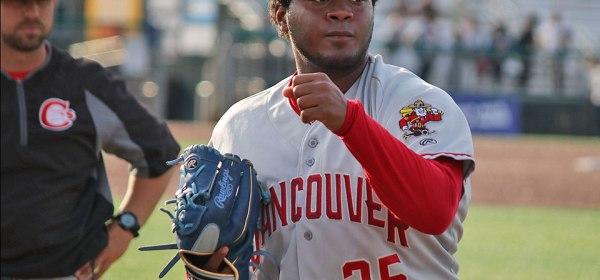 Vancouver Canadians Juan Diaz