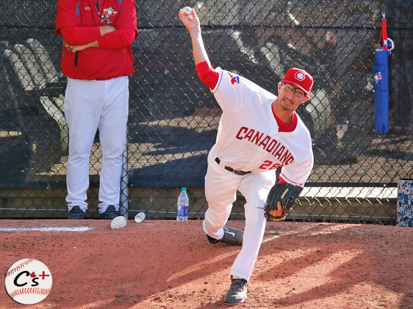 Vancouver Canadians Kyle Weatherly