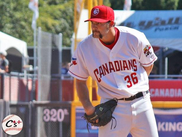Vancouver Canadians Jake Fishman