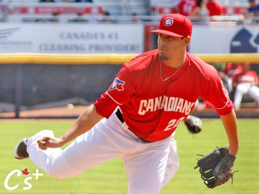 Vancouver Canadians Denis Diaz