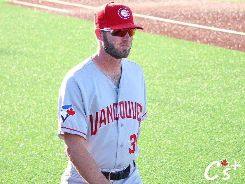 Vancouver Canadians Nick Allgeyer
