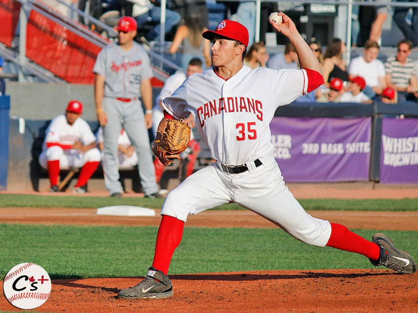 Vancouver Canadians Brody Rodning
