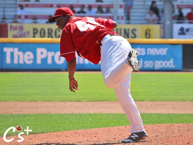 Vancouver Canadians Randy Pondler