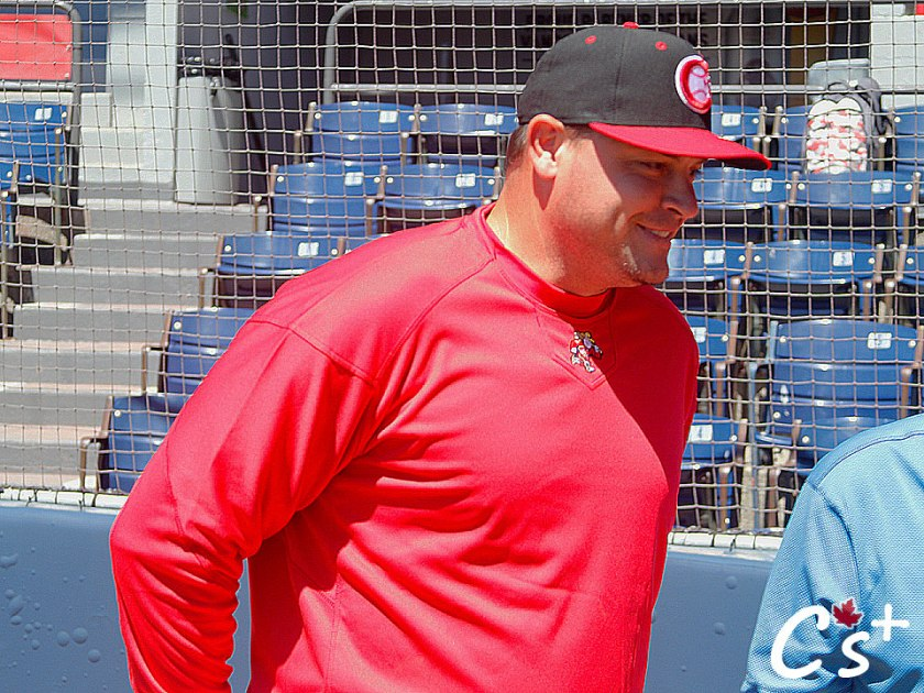 Vancouver Canadians manager Dallas McPherson